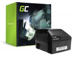 Bateria Akumulator (3Ah 14.4V) Green Cell do FEIN ABLK ABLS 1.3 1.6 ABS ABSS AFMM ASB ASCM ASCS ASCT ASM ASW 14