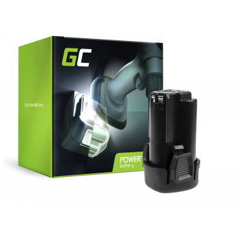 Bateria Green Cell (2Ah 12V) FMC085L PCL12BLX do Porter-Cable PCL120CR PCL120DD PCL120ID PCL212IDC Stanley FMC010 FMC040
