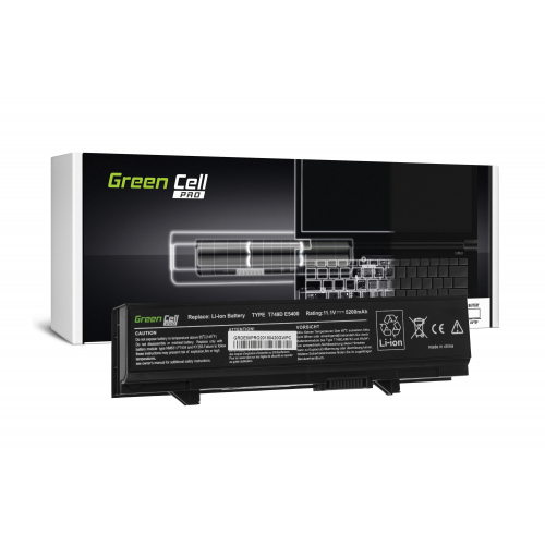 Bateria Green Cell PRO KM742 do Dell Latitude E5400 E5410 E5500 E5510