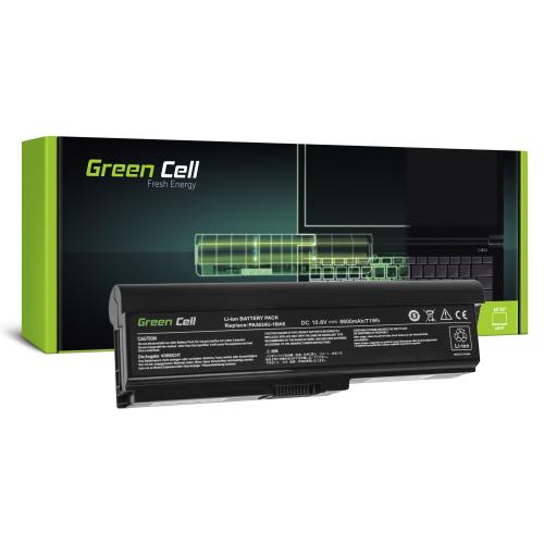 Bateria Green Cell PA3634U-1BRS do Toshiba Satellite A660 A665 L650 L650D L655 L670 L670D L675 M300 M500 U400 U500