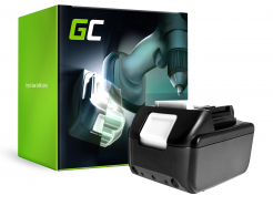 Green Cell ® Bateria do Makita DTW285RTJ