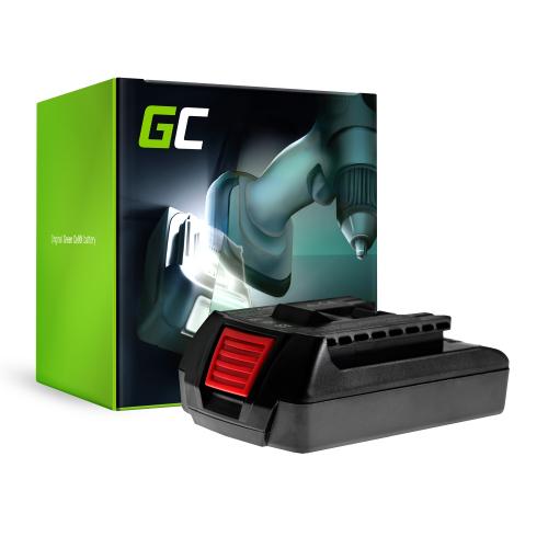 Bateria Green Cell (1.5Ah 18V) GBA 18V BAT609 BAT618G 2 607 336 236 BAT618 do Bosch GKS GSB GSR GWS 18 V-LI 18-2 LI 18-A V-EC