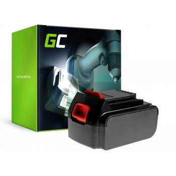 Bateria Green Cell (3Ah 18V) BL1518 BL2018 BL4018 BL1520 BL3018 do Black&Decker BDCDC18B BDCDC18 BDCDC18BAFC BDCHD18
