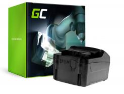 Bateria Green Cell (3Ah 18V) 625596000 625592000 625342000 625591000 6.25455 do Metabo AHS 18-55 V BS 18 LI SSE SSW STA