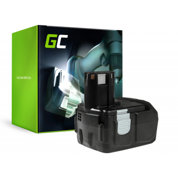 Bateria Green Cell (2Ah 18V) BCC 1815 BCL 1815 BCL BCL 1820 1825 BCL 1830 EBM1830 do Hitachi DV 18L 18DL C18DL CJ18DL CR18DL