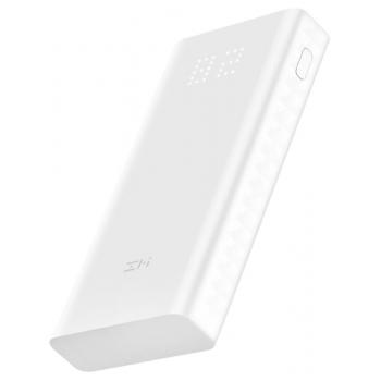 Oryginalny Power Bank Xiaomi ZMI 20000mAh QB821 z wyświetlaczem LED, Quick Charge 3.0