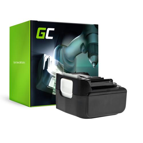 Bateria Green Cell (4Ah 14.4V) BL1415 BL1415N BL1430 BL1440 BL1450 do Makita BDF343 BJV140Z DC18RA DC18RC DDF456 DMR106 DTD146