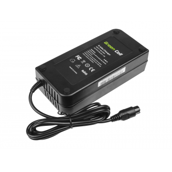 Ładowarka Green Cell 54.6V 4A (3 pin) do Baterii, Roweru Elektrycznego EBIKE 48V