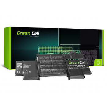 Bateria Green Cell A1493 do Apple MacBook Pro 13 A1502 (Late 2013, Mid 2014)