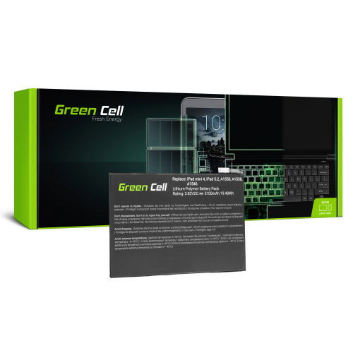 Bateria Green Cell A1546 do Apple iPad Mini 4 A1538 A1550