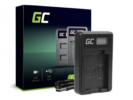 Ładowarka CBC-E5, LC-E5 Green Cell ® do Canon LP-E5, EOS 450D, 500D, 1000D, Kiss F, X2, X3, Rebel T1i, XS, XSi