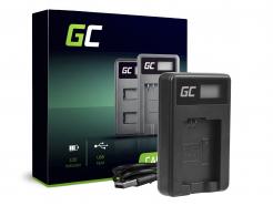 Ładowarka BC-TRW Green Cell ® do Sony NP-FZ100, Alpha A7 A7 II A7R A7R II A7S A7S II A5000 A5100 A6000 A6300 A6500