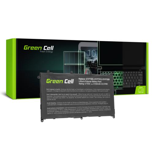 Bateria Green Cell SP368487A(1S2P) do Samsung Galaxy Tab 8.9 P7300 P7310 P7320