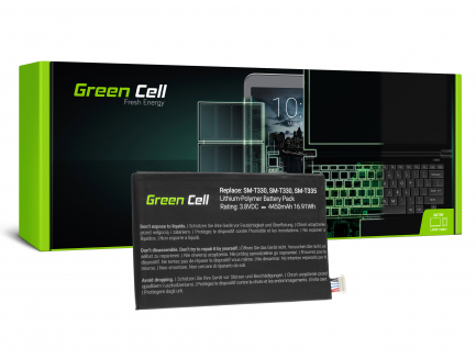 Bateria Green Cell EB-BT330FBE do Samsung Galaxy Tab 4 8.0 T330 T331 T335