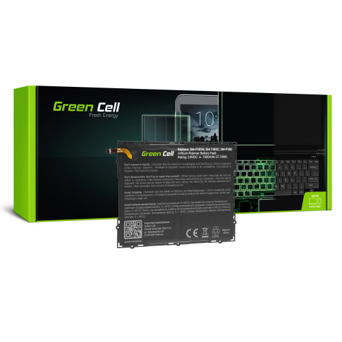 Bateria Green Cell EB-BT585ABA do Samsung Galaxy Tab A 10.1 T580 T585