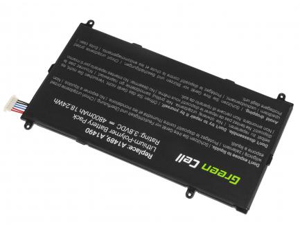 Bateria Green Cell T4800E do Samsung Galaxy TabPRO 8.4 T320 T321 T325