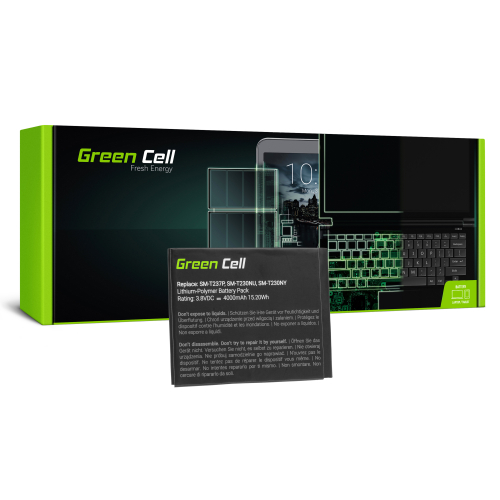 Bateria Green Cell EB-BT230FBE EB-BT230FBU do Samsung Galaxy Tab 4 7.0 T230 T231 T235