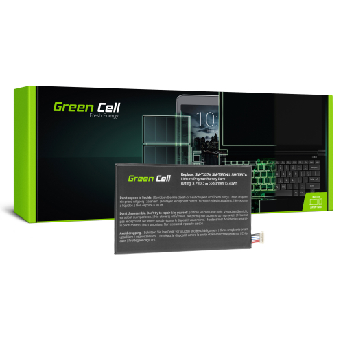 Bateria Green Cell EB-BT330FBU do Samsung Galaxy Tab 4 8.0 T330 T331 T337