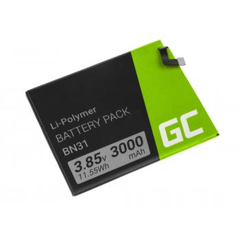 Bateria Green Cell BN31 do telefonu Xiaomi Mi A1 5X Note 5A Redmi S2 Y2