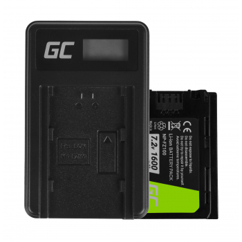 Bateria NP-FZ100 Ładowarka BC-QZ1 Green Cell ® do Sony Alpha 9 9R 9S A7 III A7R III A9 A9R