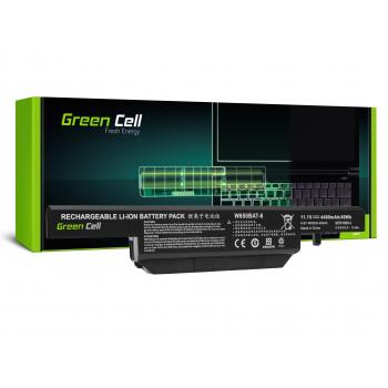 Bateria Green Cell W650BAT-6 do Clevo W650 W650SC W650SF W650SH W650SJ W650SR W670 W670SJQ W670SZQ1