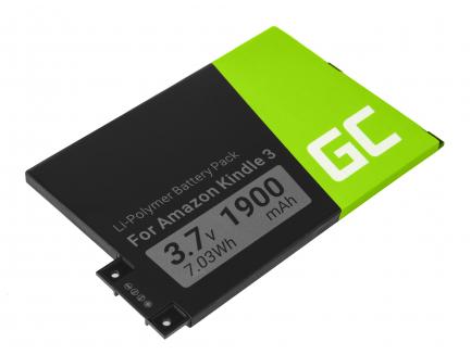 Bateria Green Cell® 170-1032-01 do czytnika e-book Amazon Kindle 3 Keyboard 2010