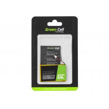 Bateria Green Cell 1-756-769-11 do czytnika e-book Sony Portable Reader PRS-500 PRS-500U2 PRS-505 PRS-505LC PRS-700, 750mAh