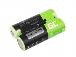 Bateria Green Cell® 010-11874-00 do GPS Garmin Astro 430 Oregon 600 650 700 GPSMAP 64 64s
