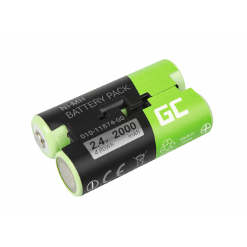 Bateria Green Cell® 010-11874-00 do GPS Garmin Astro 430 Oregon 600 650 700 GPSMAP 64 64s
