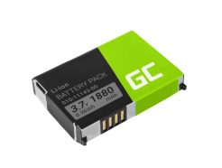 Bateria Green Cell® 010-11143-00 do GPS Garmin SafeNav Aera 500 Zumo 220 660LM