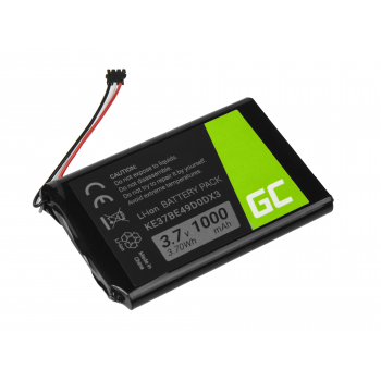 Bateria Green Cell® KE37BE49D0DX3 361-00035-00 do GPS Garmin Edge 800 810 Nuvi 1200 2300 2595