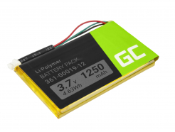 Bateria Green Cell® 361-00019-11 361-00019-12 do GPS Garmin Edge 605 705 Nuvi 200W 285WT 710 1300 1350T