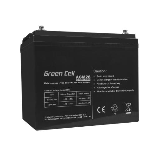 Akumulator AGM VRLA Green Cell 12V 84Ah