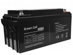 Akumulator AGM VRLA Green Cell 12V 65Ah