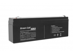 Akumulator AGM VRLA Green Cell 12V 2.3Ah