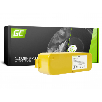 Bateria Akumulator (3.5Ah 14.4V) 40901 Green Cell do iRobot Roomba 400 410 420 430 4000 4300 4905