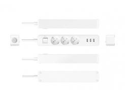 Listwa zasilająca Xiaomi Mi Power Strip z szybkim ładowaniem USB (3x USB 2.1A, 3x Standardowe gniazdo)