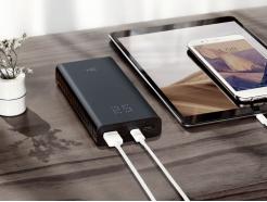 Oryginalny Power Bank Xiaomi ZMI 20000mAh QB822 Aura ze wskaźnikiem LED