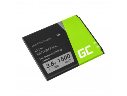 Edytuj: Bateria Green Cell EB425161LU do telefonu Samsung Galaxy Ace 2 Trend S Duos S3 Mini i8160