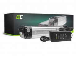 Akumulator Bateria Green Cell Silverfish Ogniwa Panasonic 36V 10.4Ah 374Wh do Roweru Elektrycznego E-Bike Pedelec