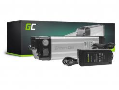 Akumulator Bateria Green Cell Silverfish 48V 11.6Ah 556.8Wh Ogniwa Panasonic do Roweru Elektrycznego E-Bike Pedelec