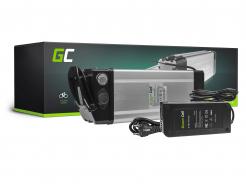 Akumulator Bateria Green Cell Silverfish Ogniwa Panasonic 48V 17.4Ah 835Wh do Roweru Elektrycznego E-Bike Pedelec