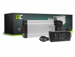 Akumulator Bateria Green Cell 36V 11.6Ah 417.6Wh Ogniwa Panasonic Rear Rack do Roweru Elektrycznego Ogniwa E-Bike Pedelec