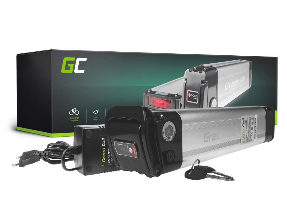 a75dff112dd9d4 Bateria Green Cell Silverfish 36V 14,5Ah 522Wh do roweru elektrycznego EBIKE