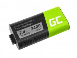Bateria Green Cell 533-000116 533-000138 do głośnika Logitech Ultimate Ears UE MEGABOOM S-00147
