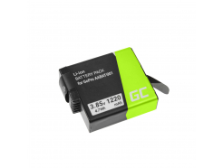 Bateria Green Cell ® AHDBT-501 AABAT-001 do GoPro HD HERO5 HERO6 HERO7 Black 3.85V 1220mAh