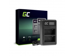 Podwójna ładowarka BC-V615 AC-VL1 Green Cell ® do Sony NP-FM500H, A58 A57 A65 A77 A99 A900 A700 A580 A560 A550 A850 SLT A99 II