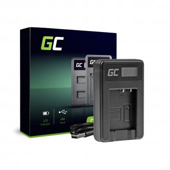 Ładowarka DE-A65BB Green Cell ® do Panasonic DMW-BCG10, Lumix DMC-TZ7 TZ10 TZ20 TZ25 TZ29 TZ30 TZ36 TZ66 ZS5 ZS10 ZS20 ZR1