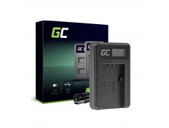 Ładowarka BC-TRP Green Cell ® do Sony NP-FH50 DCR-HC45, DCR-SR300E, DCR-SR70, DCR-SX50E