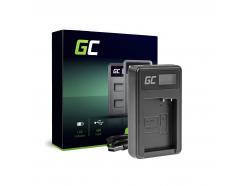Ładowarka DE-A79B Green Cell ® do Panasonic DMW-BLC12, Lumix G7 G5 G81 G6M G70M GX8EG-K GX8 G70 G85 FZ1000 FZ300 FZ2000 FZ200
